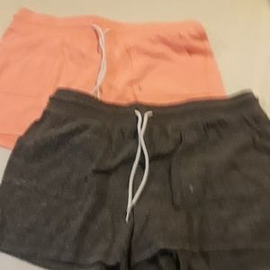Set of danskin shorts sz L. Like new